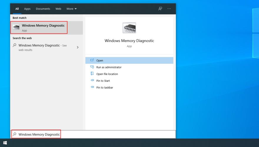 The Elimination menu shows how to affluxion Windows Retention Diagnostic