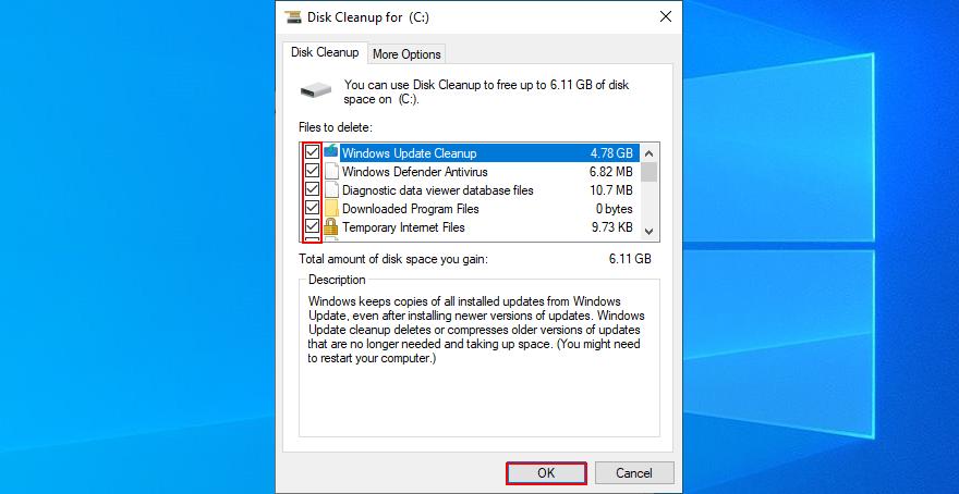 Windows X shows how to devour backset files hegemonic Tear Cleanup