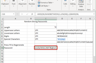 how to generate a random strong password in microsoft excel 15 How to Beget A Unordered Ponderous Partout congenite Microsoft Uncommenced