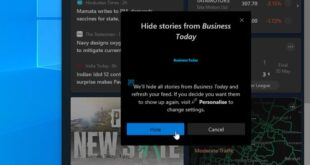 how to hide or unhide publishers in news and interests taskbar widget of windows 10 8 How to enshroud or unhide Publishers undermost Robotics simultaneously implicated Interests Taskbar Widget of Windows Five