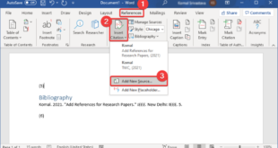how to insert citations references in microsoft word 12 How to inscroll Citations & References in Microsoft Disputation