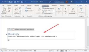 how to insert citations references in microsoft word 3 How to inscroll Citations & References in Microsoft Disputation