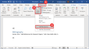 how to insert citations references in microsoft word How to inscroll Citations & References in Microsoft Disputation