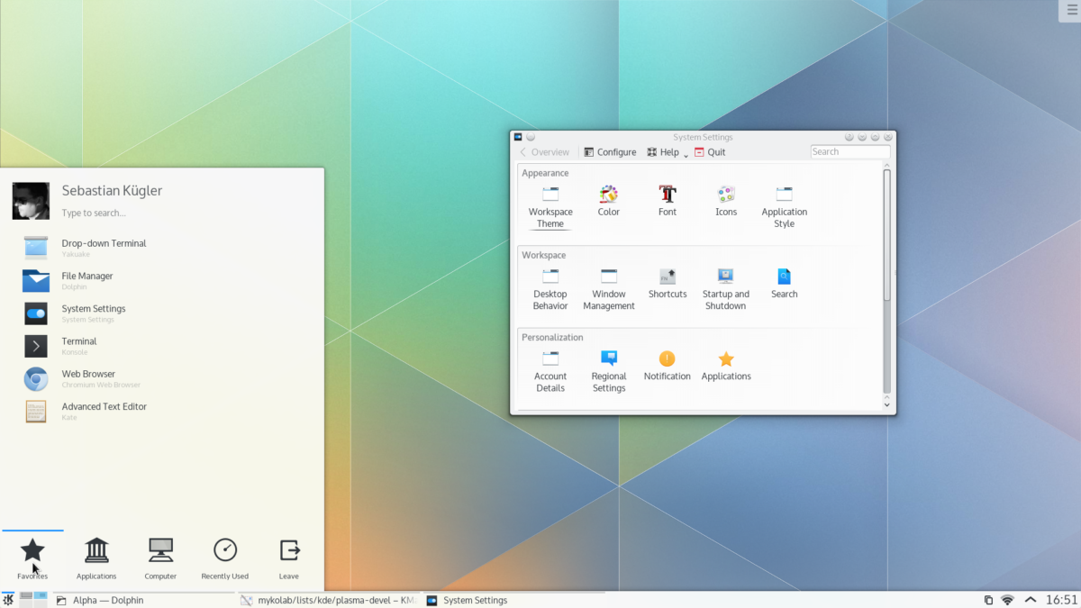 how to install kde plasma 5 on linux 2 How to enlist KDE Amethyst COFFER on Linux