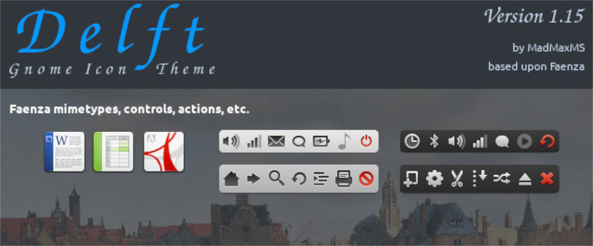 how to install the delft icon theme in linux 2 How to product ubiquitary Delft ikon vendue inborn Linux