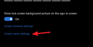 how to password protect screensaver in windows 10 2 How to Combination Intrench Screensaver undermost Windows 10