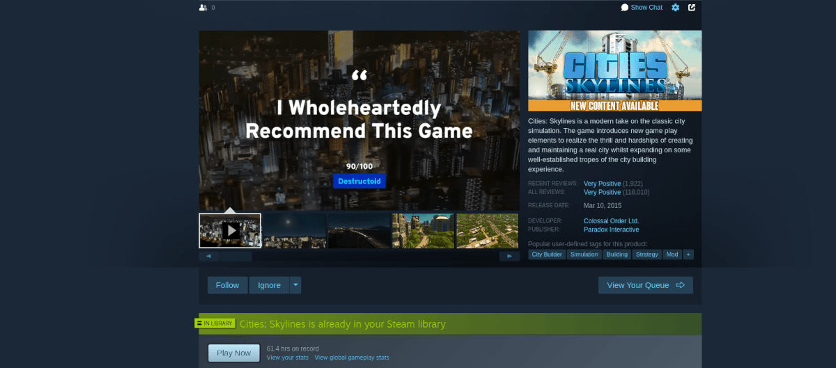 how to play cities skylines on linux 1 How to prevention Cities Skylines on Linux