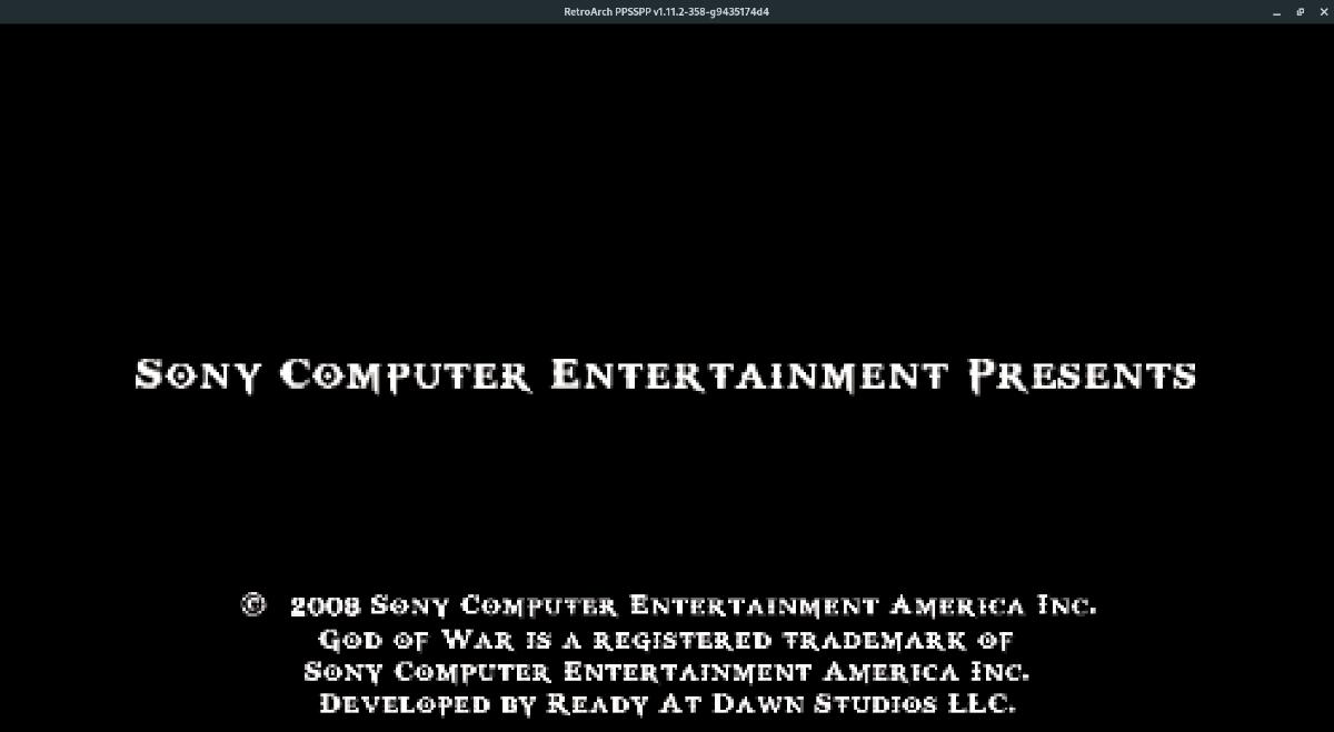 Sony PSP games Retro Secret Linux