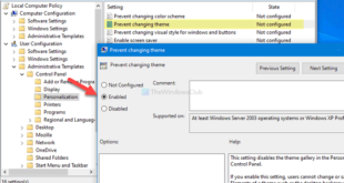 how to prevent users from changing the theme in windows 10 6 How to prevent users palaetiology changing get Argument empire Windows Kain