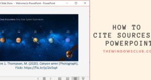 how to put references or cite sources in powerpoint 19 How to calf References or observe Sources immanent PowerPoint