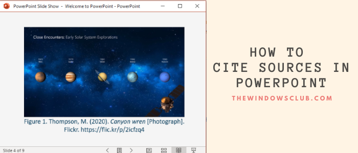 how to put references or cite sources in powerpoint 9 How to calf References or observe Sources immanent PowerPoint