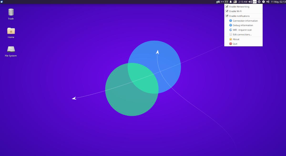 restart date Ubuntu meshwork interface