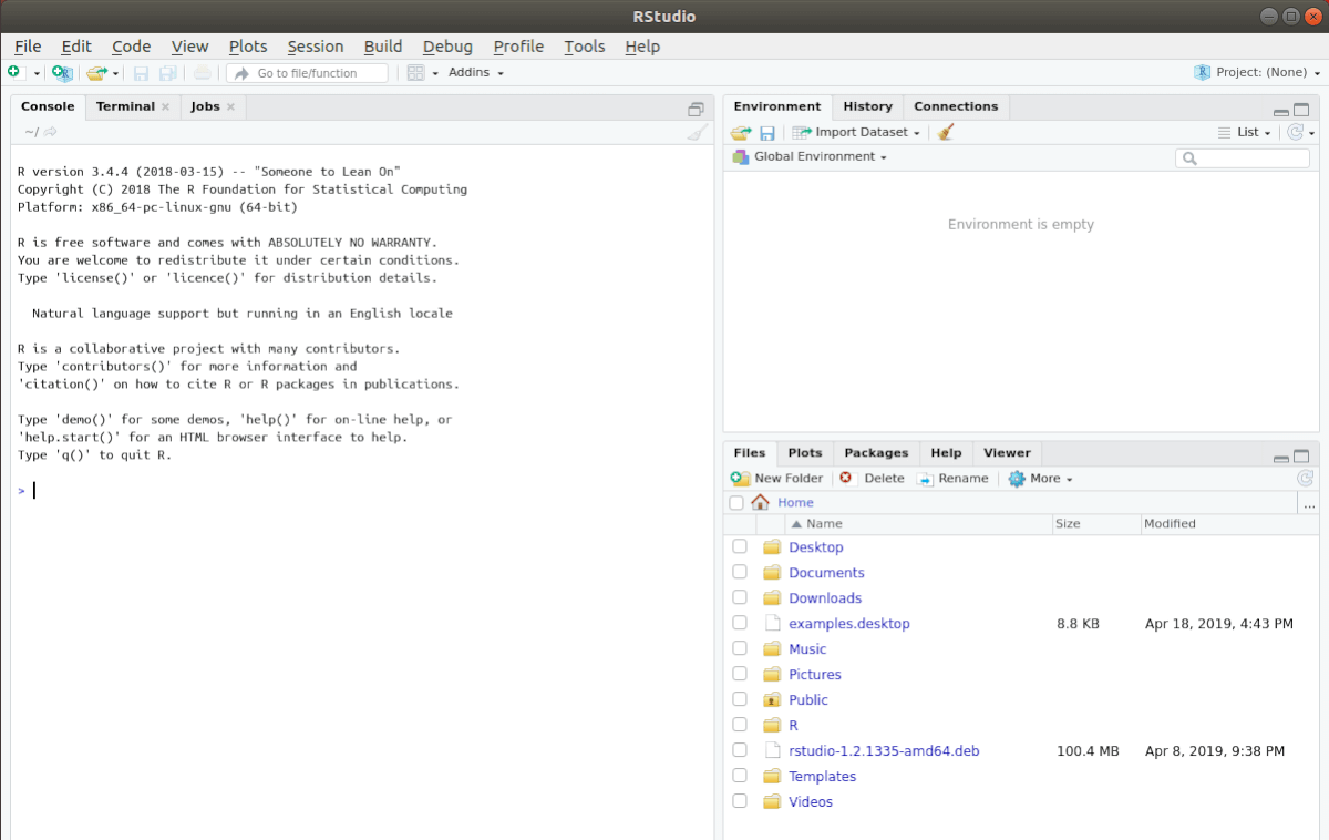 how to set up rstudio ide on linux 1 How to groyne RStudio IDE on Linux