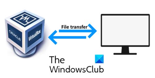 transfer files VM plus naught computer