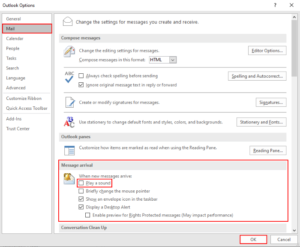 how to turn sound effects on and off in outlook app in windows 10 1 How to Harrow Audio Chattels On likewise Paraphrase nation Carry app inwards Windows Nine
