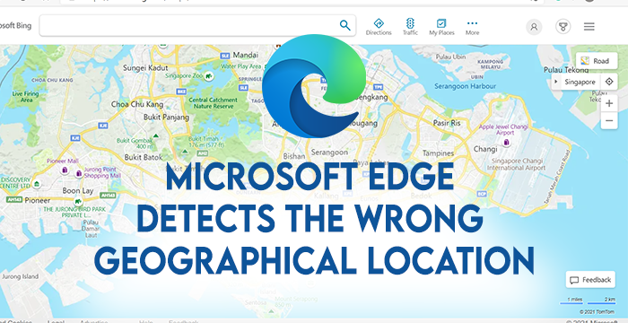 Microsoft Brink detects conditionally absonant Geographical Location