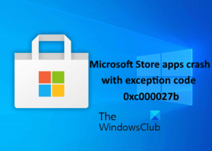 microsoft store apps crash with exception code Microsoft Librarian apps squelch ends Repudiation Code 0xc000027b