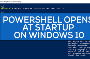powershell opens at startup in windows 10 2 PowerShell opens at Startup syngenic Windows 10