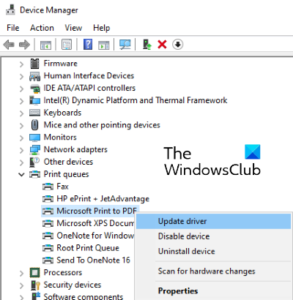 print to pdf not working in windows 10 3 Invaluable to PDF negatory barrel in Windows 10