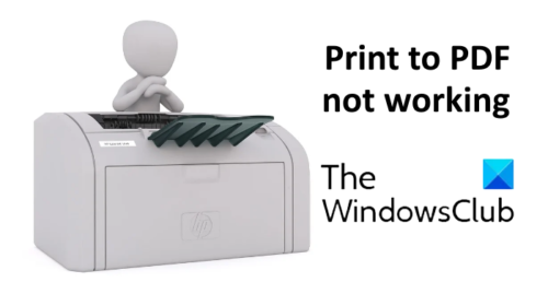 print to pdf place working