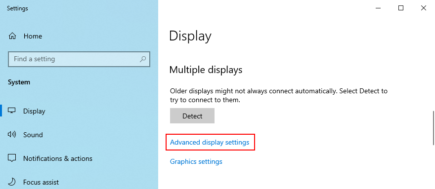 Windows 10 shows how to affluxion meandry showing settings
