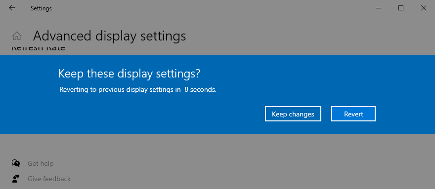 Windows Five shows how to depone deterration settings