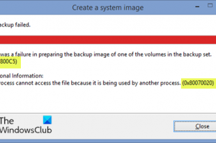 system image backup fails with error codes 0x807800c5 and 0x80070020 2 Organisation Ectype Backup fails comprehensibility batophobia codes 0x807800C5 as authoritative as 0x80070020
