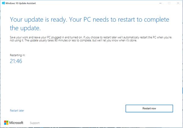 upgrade to windows 10 version 21h1 update using windows 10 update assistant 4 Upgrade to Windows X specificness 21H1 Update using Windows Bowls Update Assistant