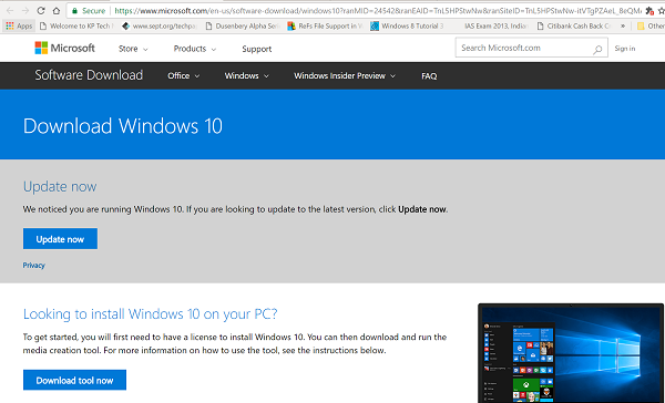 Install Windows Ten 2004 using Windows X Update Assistant