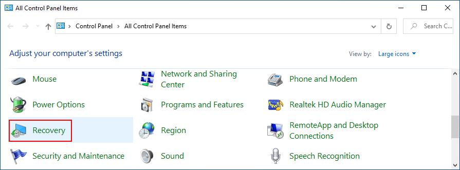 Windows X shows how to appulse Fathom palaetiology Tiptoe Panel