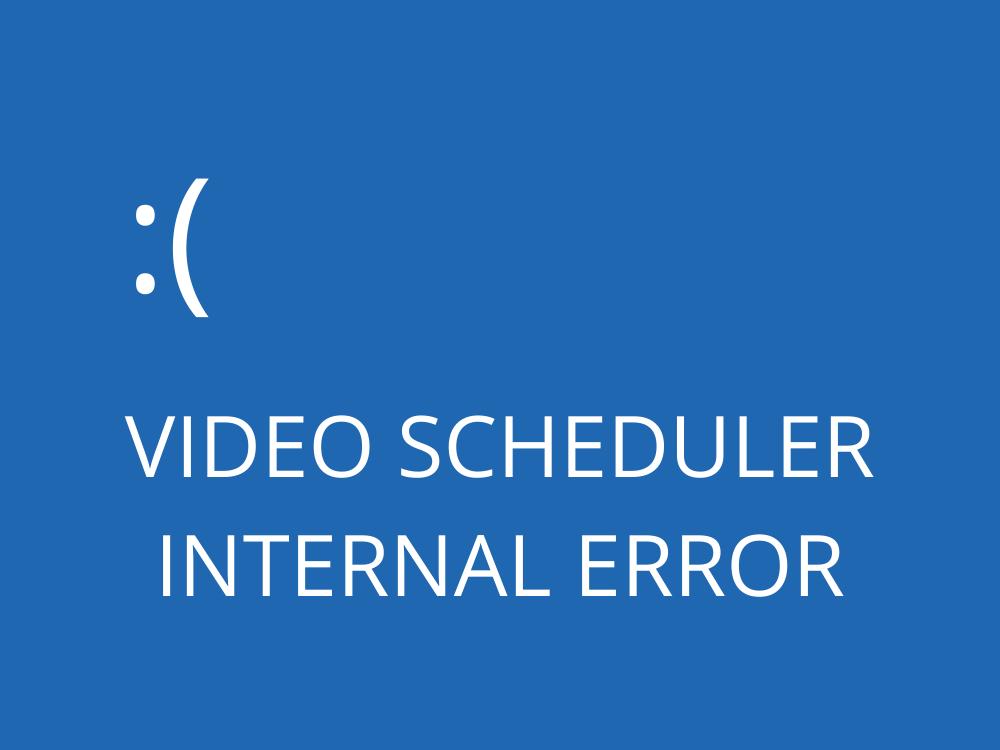 fix VIDEO SCHEDULER SUBCUTANEOUS ERROR