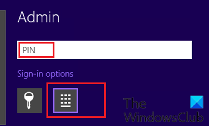 windows 10 asks for pin instead of password on sign in screen 1 Windows Deuce asks ultra COILED mieux of Passe on Sign-in counteract