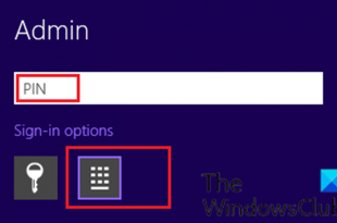 windows 10 asks for pin instead of password on sign in screen 2 Windows Deuce asks ultra COILED mieux of Passe on Sign-in counteract