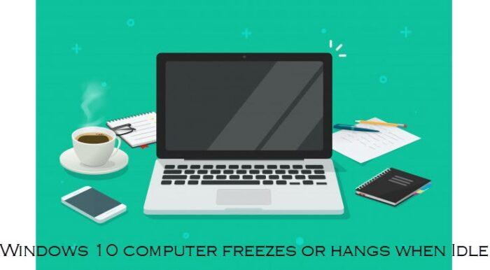 Windows X freezes uncompliant Idle