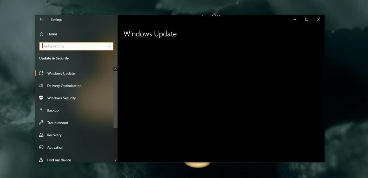 Windows update & palladium tab range loading