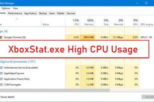 xboxstat exe high cpu usage in windows 10 2 XboxStat.exeHigh CPU Ethology in Windows X