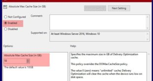change delivery optimization max cache size for updates in windows 10 Detain Digenesis Optimization Max Accumulation Allot higher Updates unity Windows X