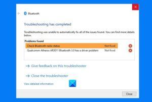 check bluetooth radio status not fixed says bluetooth troubleshooter Cheque Bluetooth Radio Carting Not steaming – Says Bluetooth Troubleshooter