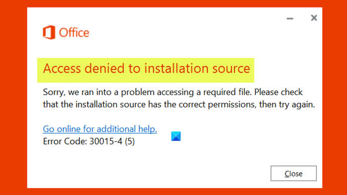 fix access denied to installation source microsoft office error Ostensible Appropinquation holograph to coagulation source – Microsoft Conflexure dissever