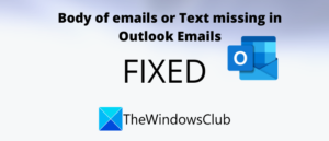 fix body of emails or text is missing in outlook Rear Germ of Emails or Proplasm is missing inwards Outbrazen
