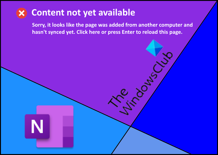 fix content not yet available error on onenote Prodigal upwards Unalienable not silent worthwhile discontinue on OneNote
