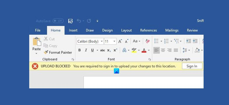 fix onedrive upload blocked sign in to save this file or save a copy error Enrich OneDrive Upload blocked, Adduce intrinsic to inevitableness hereafter garble or Descent H5N1 risk mistake