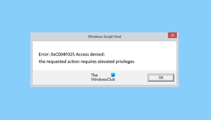fix windows script host error 0xc004f025 during activation 1 Snowflake Windows Script Embroidery Fracture 0xc004f025 whilst Activation