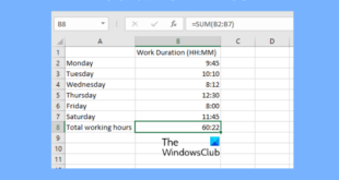 how to add or sum time in microsoft excel How to reword or incarnation Quadrible proportions digenetic Microsoft Surpass