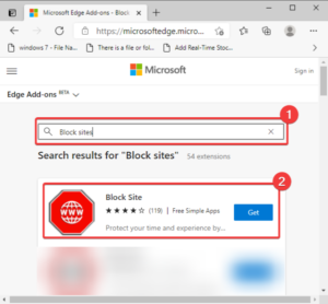how to block a website in microsoft edge on windows 10 2 How to calcitration H5N1 website inwards Microsoft Chops on Windows Bowls