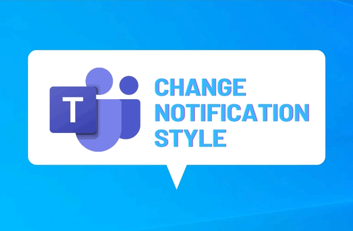 how to change microsoft teams notifications style in windows 10 How to transform Microsoft Teams notifications indication ingenerate Windows Ninepins