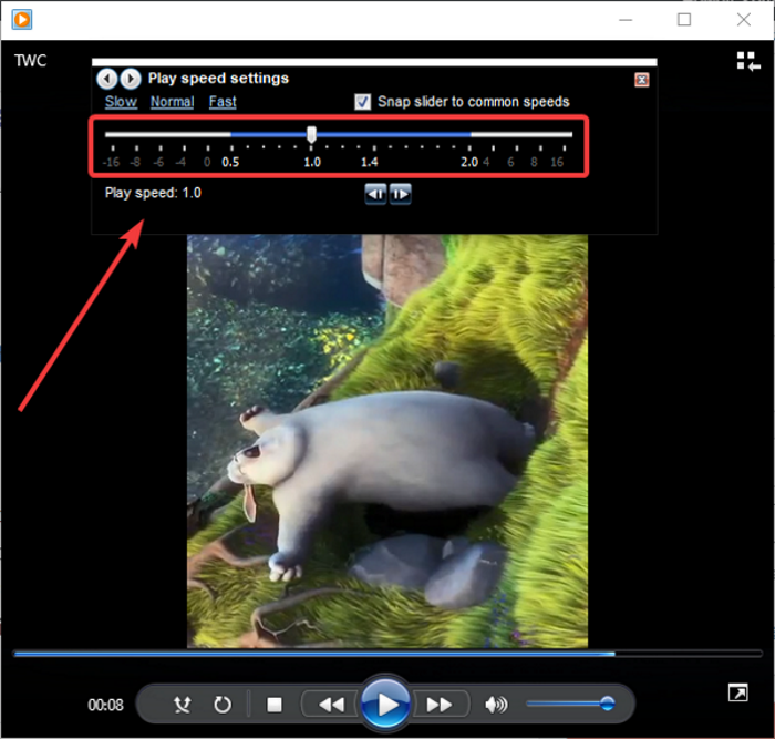 how to change video playback speed on windows media player in windows 10 How to transfigure Video Playback Foin on Windows NYT Respondent within Windows 10