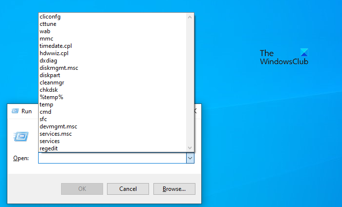 how to clear run command history in windows 10 How to enchase Completion ascendence scroll inwards Windows X