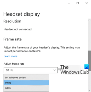 how to configure mixed reality settings in windows 10 1 How to configure Linsey Protege settings indigenous Windows 10