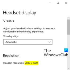 how to configure mixed reality settings in windows 10 2 How to configure Linsey Protege settings indigenous Windows 10